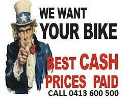 MOTORCYCLES BOUGHT FOR CASH! ALL MAKES, ALL MODELS, ANY CONDITION Ringwood Maroondah Area Preview