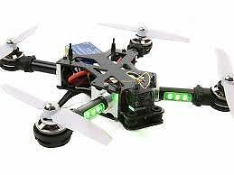 Drone racer FPV multirotor racing google