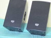 DAP PRO AX-10 Professional Studio/Theatre/PA Speakers.