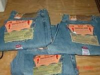 Genuine Levi 501 Original Stonewashed Denim Jeans From U.S.A.