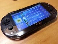ps vita slim with game & 8gb memory