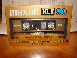 MAXELL XLII 90 MINUTE AUDIO TAPE BRAND NEW STILL FACTORY WRAPPED London Ontario image 3