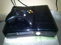 250 gb xbox 360 slim with 1 controller