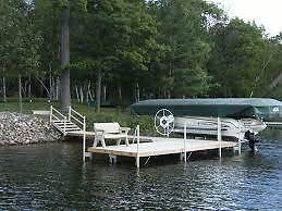 Dock & Boat Lift Installations Kawartha Lakes Peterborough Area image 1