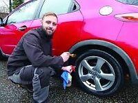 Vehicle detailer Valeter mechanic £9.50 PER HOUR start straight away