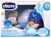 New - Chicco Goodnight Stars Projector on sale - REDUCED