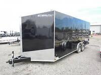2016 Upgraded Stealth SE 8.5x20 Enclosed Trailer 5200lb Axles