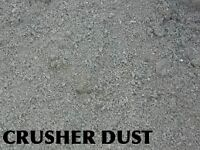 CRUSHER DUST, TOPSOIL, CRUSHED ROCK,BASE GRAVEL***FREE DELIVERY