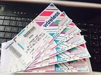 X3 Wireless tickets (Saturday day time tickets)
