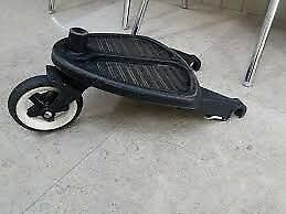 Bugaboo buggy board with connectors