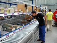 Warehouse Workers Needed (4pm to 11pm or 3am to 10am)