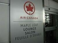 Air Canada airport LOUNGE PASSES