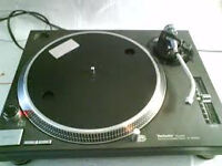 Old Used Technics 1200 or 1210 Turntables Wanted