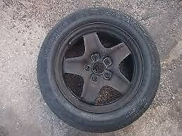VAUXHALL INSIGNIA STEEL SPARE WHEEL WITH TYRE USED