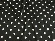 Polka Dot Stretch Fabric