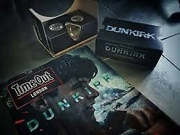 Timeout DUNKIRK WW2 World War 2 Edition + VR Goggles / Christopher Nolan