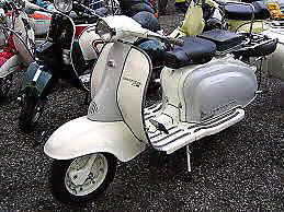 Wanted Vintage Vespa or Lambretta Scooter