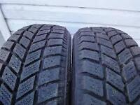 SNOW TIRES P185/60/R15 HANKOOK SET OF TWO $120.00