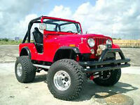 WANTED Jeep custom cj with v8 restored redone rebuilt