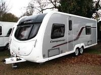 Wanted Swift conqourer 645 or Bessacar 645 Caravan ( year 2012 to 2014 )