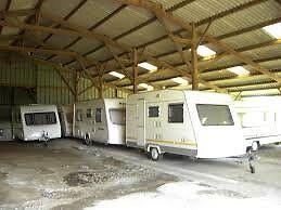 Indoor and Outdoor Caravan Storage 24 Security CCTV and Alarm.