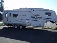 2004 cougar 276 esf fift weels 29' ( 1/2 ton towable)