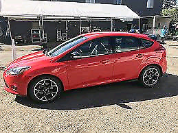 2013 Focus Race Red W/black apprce pkg