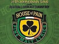 House of Pain 25th Anniversary tour - one ticket available £20 ono