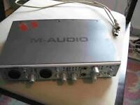 M-Audio 410, fire-wire audio card