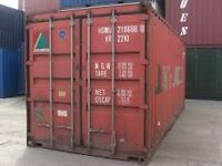 20' Used Cargoworthy Containers