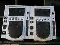 Pair of Pioneer CDJ100 cd players