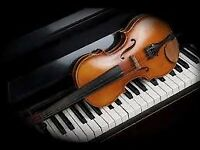 Violin and Piano lessons [Larkhall]