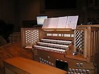 The best organist around - available for concerts, practices, and conducting work