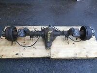FORD TRANSIT TIPPER REAR AXLE, HEAVY LEAF SPRINGS,BREAKING,PARTS,PROP SHAFT, GEARBOX,WHEELS...CALL