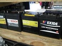 car battery 063 £39.99(smaller cars and 096 (L) cars£65 both new and fully charged brislington area