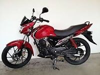 Learner legal 124cc Suzuki Slingshot Motorcycle