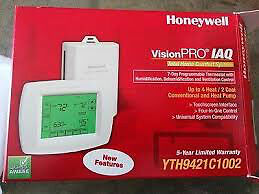 NEW! Honeywell VisionPRO IAQ Programmable Thermostat/Humidistat