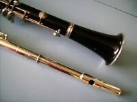 Clarinet Lessons for Flute Lessons ?