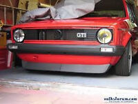 VW GOLF GTI MK1 GILL HEADLIGHTS BOTTOM SPLITTER VW CADDY PICKUP MK1