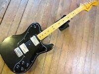 Black Fender Telecaster Deluxe '72