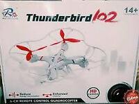 thunderbird 102 quadcopter drone
