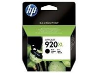 Brand New HP 920XL High Yield Black Original Ink Cartridge CD975AE