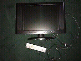 """Daenyk 15"""" Lcd tv with remote"""