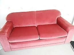 Ikea pink sofa bed