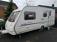 Sterling Eccles 2003 4 berth clean and ready to use family caravan