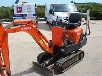 micro digger hire doorway digger hire with cpcs driver