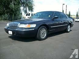 1999 Mercury Grand Marquis GS Sedan