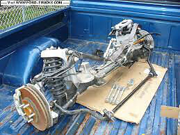 Crown Victoria Bolt in Aluminum Engine cradle for hot rods