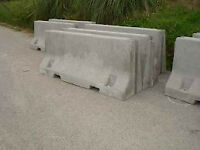 """11 --JERSEY BARRIERS FOR SALE  """" price reduced"""""""