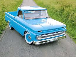 1964 -65 Chevrolet c10 fleetside long box parts